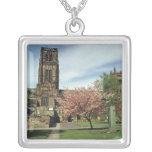 View of the exterior, built 1093-1280 square pendant necklace