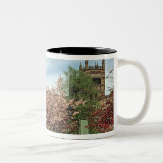 View of the exterior, built 1093-1280 Two-Tone coffee mug