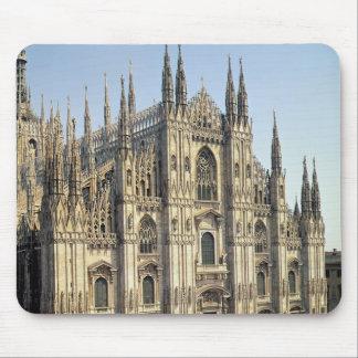 View of the facade, begun 1386 mouse pad