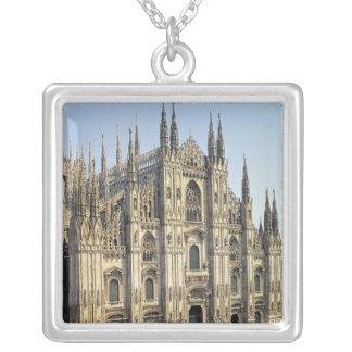 View of the facade, begun 1386 square pendant necklace