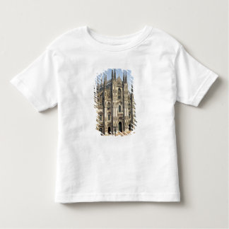 View of the facade, begun 1386 toddler t-shirt