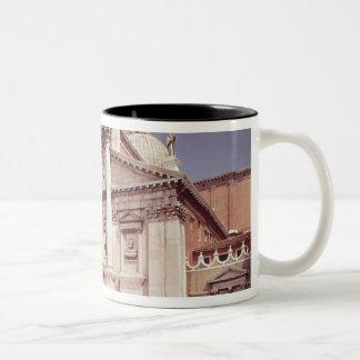 View of the facade, built 1607-11 coffee mug