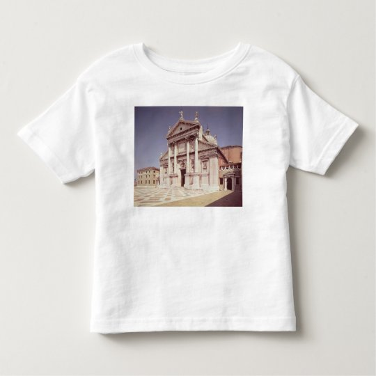 View of the facade, built 1607-11 toddler t-shirt