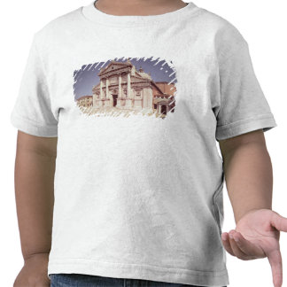 View of the facade built 1607-11 t-shirts
