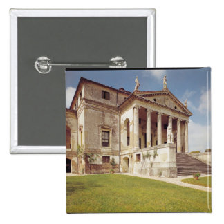 View of the facade, c.1566-67 pinback buttons
