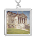 View of the facade, c.1566-67 square pendant necklace