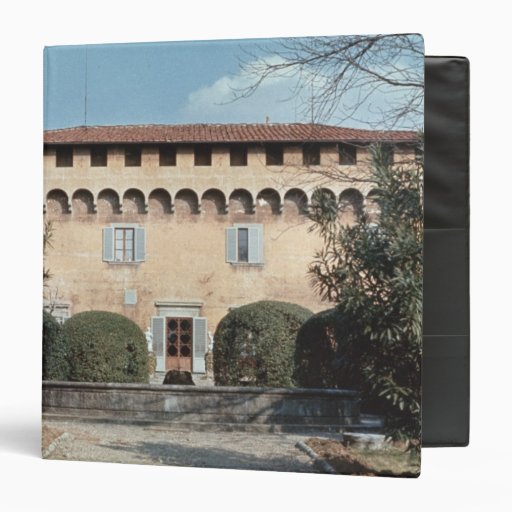 View of the facade, designed for Cosimo 3 Ring Binders