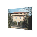 View of the facade, designed for Cosimo Stretched Canvas Print