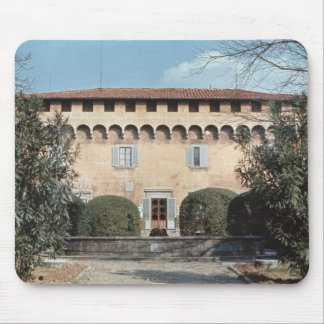 View of the facade, designed for Cosimo Mouse Pad