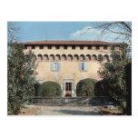 View of the facade, designed for Cosimo Postcards