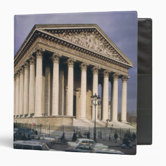 View of the facade of La Madeleine 3 Ring Binder