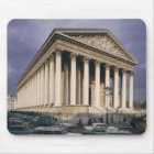 View of the facade of La Madeleine Mouse Pad
