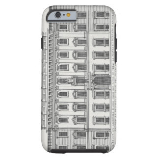 View of the facade of Palazzo Chigi, Rome, designe Tough iPhone 6 Case