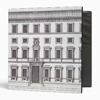 View of the facade of Palazzo Marchese, Rome, desi Binder
