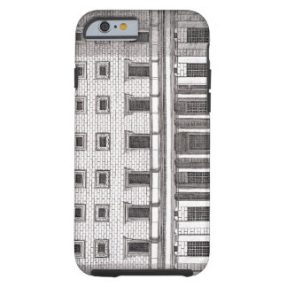 View of the facade of Palazzo Massimi alla Valle, Tough iPhone 6 Case