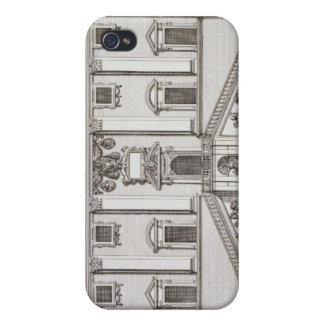 View of the facade of Palazzo Senatorio in Piazza iPhone 4/4S Case