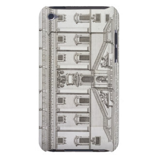 View of the facade of Palazzo Senatorio in Piazza iPod Touch Case