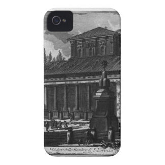 View of the facade of the Basilica of St. Cross iPhone 4 Cover
