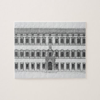 View of the facade of the Lateran Palace, Rome, co Jigsaw Puzzle