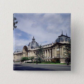 View of the facade of the Petit-Palais Pinback Button