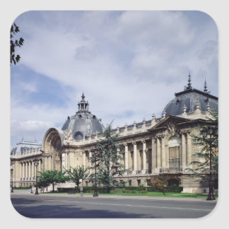 View of the facade of the Petit-Palais Square Sticker