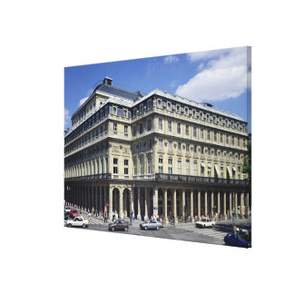 View of the facade of the Theatre Francais Gallery Wrapped Canvas