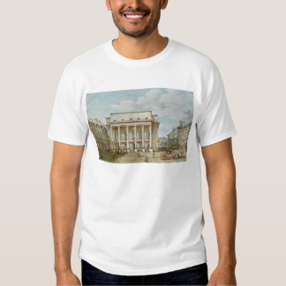 View of the Facade of the Theatre Italien T-Shirt