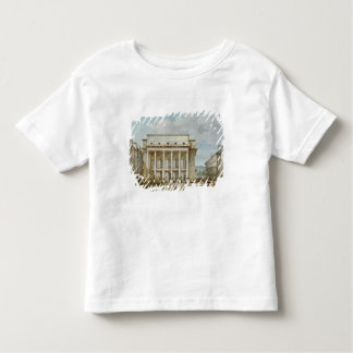 View of the Facade of the Theatre Italien Toddler T-shirt