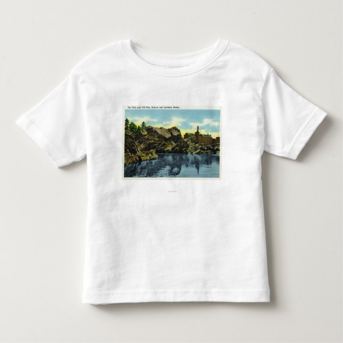 View of the Falls and Old Man Toddler T-shirt