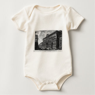 View of the Farnese Palace by Giovanni Battista Baby Bodysuit
