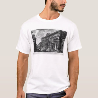 View of the Farnese Palace by Giovanni Battista T-Shirt