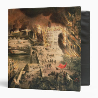 View of the Fires in Paris during the Commune Binder