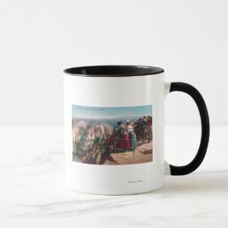 View of the Fissures and Yosemite Valley Mug