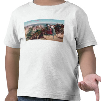 View of the Fissures and Yosemite Valley T-shirt