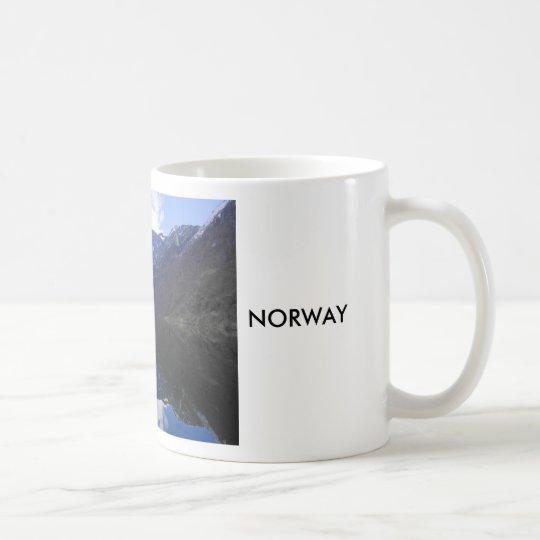 View of the Fjordes,  Norway Coffee Mug