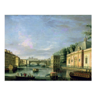 View of the Fontanka River in St Petersburg Postcard