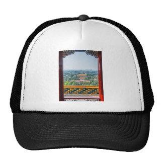 View of the Forbidden City from Jing Shan Trucker Hat