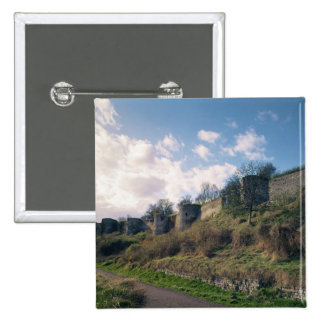 View of the fortifications, 1226-42 pinback button