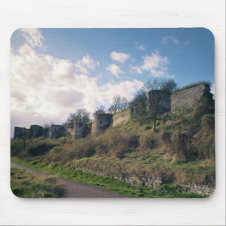 View of the fortifications, 1226-42 mouse pad