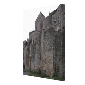 View of the fortified village (photo) 3 canvas prints