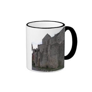 View of the fortified village (photo) 3 coffee mug