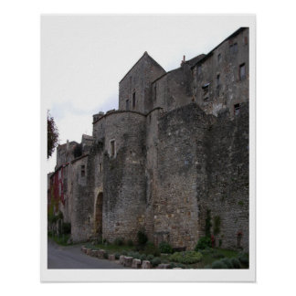 View of the fortified village (photo) 3 print