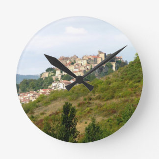 View of the fortified village (photo) round clock