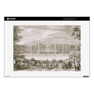 View of the Fountain of Neptune, Versailles (engra Skin For Laptop