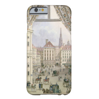 View of the Freyung, Vienna, 1825 (gouache on pape Barely There iPhone 6 Case