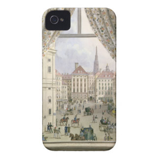 View of the Freyung, Vienna, 1825 (gouache on pape iPhone 4 Case