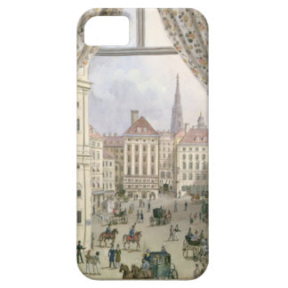 View of the Freyung, Vienna, 1825 (gouache on pape iPhone SE/5/5s Case