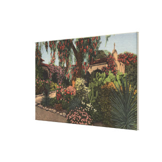 View of the Front Mission Garden Canvas Print