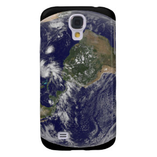 View of the full Earth and four storm systems Galaxy S4 Cases