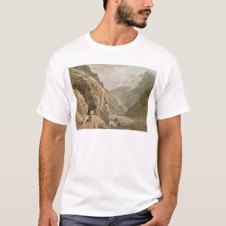 View of the Galerie d'Algaby near Valais Border T-Shirt
